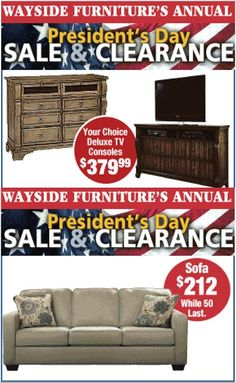 1000 images about our clearance furniture on pinterest for Presidents day furniture sales