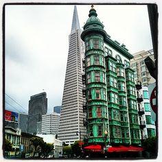 Buildings in #FogCity!