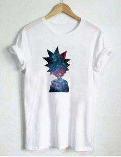 Rick and Morty Galaxy T Shirt Size S,M,L,XL,2XL,3XL