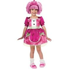 Toddler Girls Jewel Sparkle Costume - Lalaloopsy