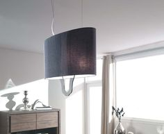 Philips Eseo Pendelleuchte Zani Pendel Leuchte Design 4-flg. Stoffpendel