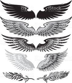 Bu Wings And Laurel vekt r ill strasyonunu hemen indirin Ve mevcut Amblem grafiklerini abuk ve kolay indirme zelli i i in royalty-free vekt r sanat n n iStock k t phanesinden daha fazla arama yap n Body Art Tattoos, Tattoo Drawings, New Tattoos, Small Tattoos, Tattoos For Guys, Sleeve Tattoos, Cool Tattoos, Tatoos, Alas Tattoo