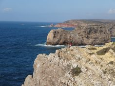 Another view of Cape Saint-Vincent. The next westerly stop is America. Saint Vincent, Algarve, The Next, Lisbon, Cape, Portugal, America, Outdoor, Mantle
