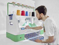 Kniterate: A New Digital Knitting Machine Lets You Print Fashion Designs