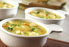 Creamy and hearty, this chowder offers great taste satisfaction with just a tease of curry.