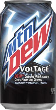 Mountain Dew Voltage my favorite type of Dew! Pepsi, Coca Cola, Coke, Cola Drinks, Fun Drinks, Mountain Dew Voltage, Custard Cream Cupcakes, Carbonated Soft Drinks, Best Ice Cream