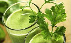 Groene koriander smoothie