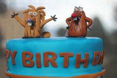 Angry Beavers Cake