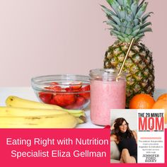 Nutrition specialist , Eliza Gellman of the podcast Hotter Than Heath, is the guest in this episode of The 29 Minute Mom podcast.