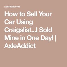 Best 25 Craigslist Cars Ideas On Pinterest What Is A