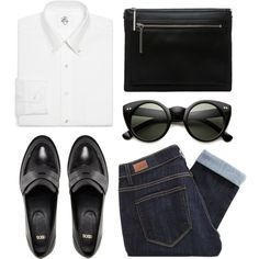 Who knows by louisesuxx on Polyvore featuring Paige Denim, ASOS, 3.1 Phillip Lim and Brooks Brothers