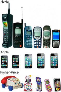 thefrogman:    We've come so far.    Those Fisher-Price phones totally run Android.