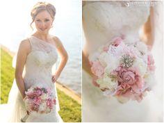 Bride, Etsy, Bridal Portrait, Outdoors, Pastels