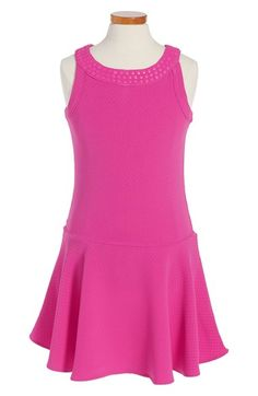 Nicole Miller Knit Sleeveless Dress (Big Girls)