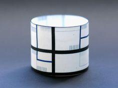Bodil Manz • Cylinder No1 Black And Blue