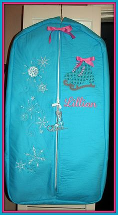 http://airlinepedia.net/garment-bags.html The top performing and most functional garment bags available for flying. Offers consumer reviews for both check in in addition to carry on models along with the most innovative concepts and innovations. Garment Bag with ice skating theme