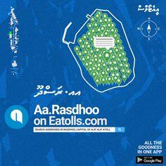 Search residence addresses and streets in B.Eydhafushi on http://Eatolls.com  . #BaaAtoll #Eydhafushi #Maldives #Eatolls