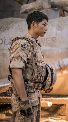 ผลการค้นหารูปภาพสำหรับ song joong ki wallpaper descendants of the sun Song Hye Kyo, Korean Celebrities, Korean Actors, Song Joong Ki Cute, Soon Joong Ki, Decendants Of The Sun, Sun Song, A Werewolf Boy, Songsong Couple