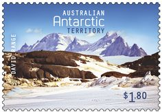 The David Range on our Australian Antarctic Territory stamps
