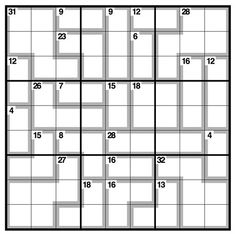 12 Best Killer Sudoku images in 2016 | Sudoku puzzles