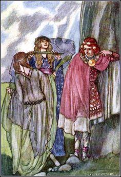Stephen Reid 'Fairy Swan-Maidens' The Boys' Cuchulain