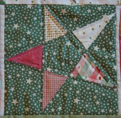 5 point star quilt block by sacridote, via Flickr