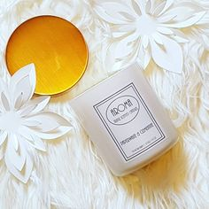 Paperwhite & Clementine Scented Candle