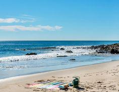 Oceanfront, Coastal Living Malibu Beach. Via Sotheby's Homes.