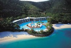 Modern Resort Granting Easy Access to the Great Barrier Reef: Hayman Hotel