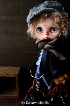 One Customized OOAK Blythe Doll / Lucas/ custom by Dakawaiidolls