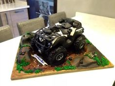 ATV CAN-AM - Cake by Rock n Rolla Cakes
