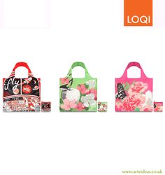 3 for 2 Loqi Bags! Prima Collection and Moon. Click on the image to buy!   loqi  reusable  bags 77901bf826