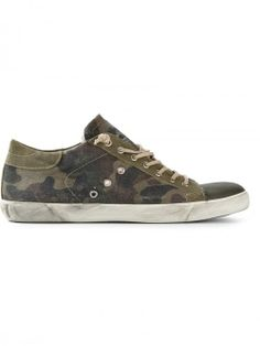 Leather Crown Camouflage Sneakers | Shoes and Footwear