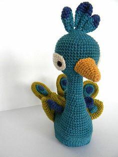 Peacock amigurumi