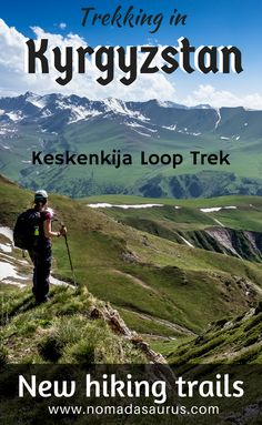 The Ultimate Guide To The Keskenkija Loop Trek In Kyrgyzstan  A detailed guide on everything you need to know about the brand newKeskenkija Loop Trekin the Jyrgalan Valley in Kyrgyzstan. Don't miss Jyrgalan off your list of places to visit in Kyrgyzstan.