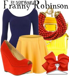 I'm loving these Disney Bound posts! Cute outfits inspired by Disney characters!