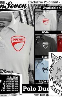 polo shirt ocean seven ducati logo tshirt online store,kaos,polo,raglan,distro,sablon,coreldraw,photoshop