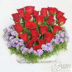 #Flowers are forever! Send flowers to your freinds and loved ones from www.countryoven.com