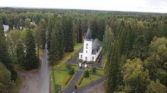 Törnävän kirkko, Seinäjoki, 1827, photo Keskisen Kopteri