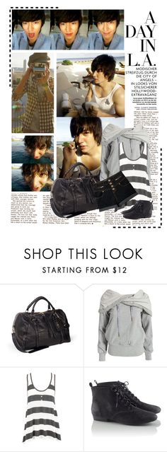 """""""9. The Korean guy you would take with you for a long trip ~ Lee Minho"""" by megan-urie-loves-brendon ❤ liked on Polyvore featuring Elliott Lucca, adidas and H&M"""