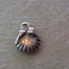 Teeny hand cast silver Greek charm. winnieandbelle