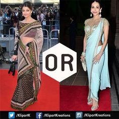 Who do you think looks best in a #Sari ? Aishwariya Rai Bachchan OR Malaika Arora Khan Hit LIKE For Bachchan & Comment for the Khans To know more about different #Sari Styles Click here to download the #LearnSari App :http://bit.ly/1IW6ne9