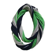 12th Man Seattle Seahawks Loopy Infinity Scarf. #scarf  #fashion 9thelm.com