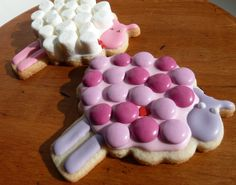Cute sheep cookies (this would be better for Eid Al-Adha)  #ramadanfoodie  #saffronroad