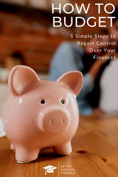 Learning how to budget doesn't have to be difficult or scary. In just 5 simple steps, we will show you how to budget. We'll cover things like budgeting for living expenses, savings, and long-term expenses, as well as some of our favorite budgeting tools like YNAB and Mint. #budgeting #howtobudget #budgetingforbeginners #ynab #mint Budgeting Tools, Budgeting Finances, Money Tips, Money Saving Tips, Saving Ideas, Financial Tips, Financial Planning, Living On A Budget, Frugal Living