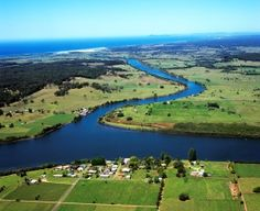 The Manning River New South, South Wales, Perth, Golf Courses, Australia, River, Spaces, Rivers, Space