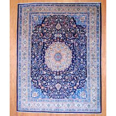@Overstock - With a distinctive style, a gorgeous area rug from Iran will add some splendor to any decor. This Mashad area rug is hand-knotted with a floral pattern in shades of navy, beige, ivory, rust, brown, green and light blue.http://www.overstock.com/Worldstock-Fair-Trade/Persian-Hand-knotted-Mashad-Navy-Beige-Wool-Rug-910-x-129/7156997/product.html?CID=214117 CAD              2276.29