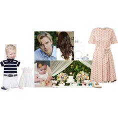 Celebrating Elizabeth's first birthday with a party at Alfold Hall by eleanorduchessofyork on Polyvore featuring Orla Kiely, Converse, Links of London, Alexander McQueen and Tiffany & Co.