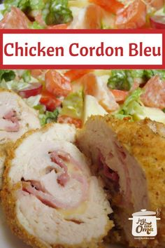 Does your chicken cordon bleu recipe sound difficult? Try this easy version and impress your guests! Hey, don't just wait for company. Your family will love this too!