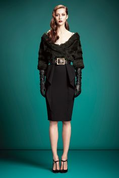 Gucci Pre-Fall 2013 Fashion Show - Alana Zimmer